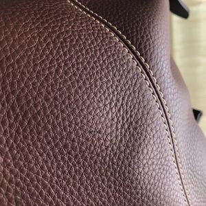 Dooney & Bourke Bags - Dooney & Bourke Brown Leather Hobo Bag